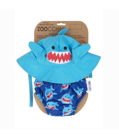 Chapeau---Maillot-de-bain-Shark-6-12-mois