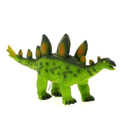 Dinosaure-avec-son-Stegosaurus
