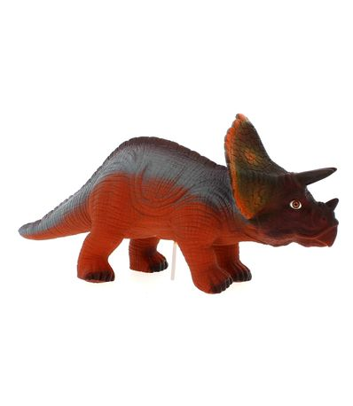 Dinosaure-avec-son-Triceratops-rouge
