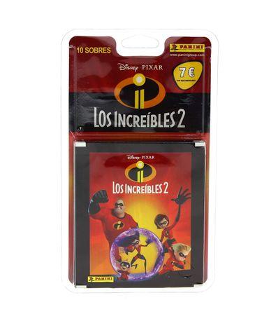 Les-Incredibles-2-Blister-10-Enveloppes-Chromos