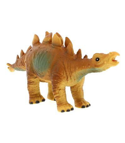 Dinosaure-36-cm-brun-clair