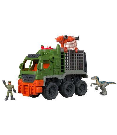 Monde-Jurassique-Imaginext-Truck-Catch-Dinosaurs