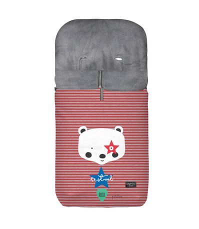 Fauteuil-sac-universel-Velour-Bear-Red