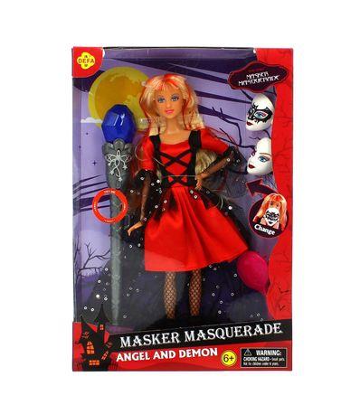 Muñeca-Masker-Masquerade-Roja