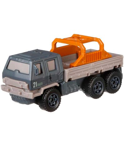 Jurassic-World-Matchbox-Camion-de-Salvamento
