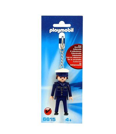 Playmobil-Porte-cles-Police