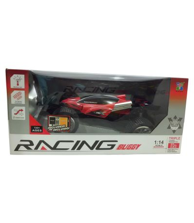 Voiture-RC-Buggy-Rouge-Echelle-1-14