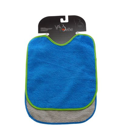 Pack-2-bavoirs-avec-elastique-Bleu-et-Gris