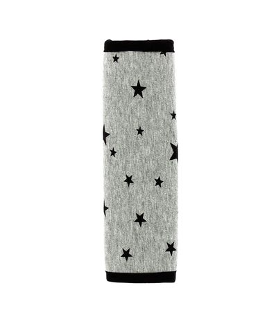 Cubre-cinturon-auto-Estrellas-Negro