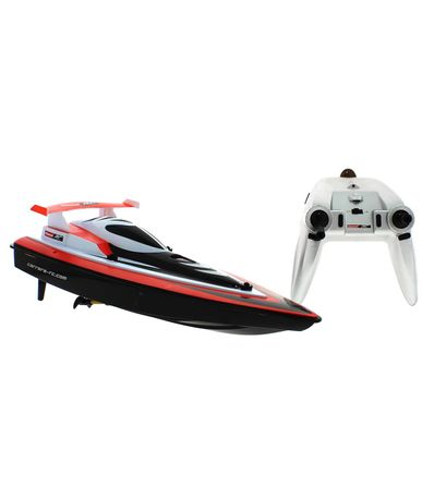 Lancha-Race-Boat-R-C--Rojo