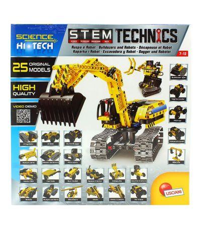 Ciencia-Hi-Tech-Robot-y-Bulldozer