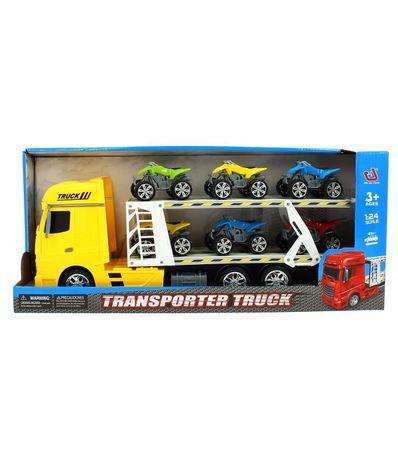Camion-Transportador-de-Quads-Amarillo