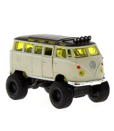 Maisto-fresco-do-metal-Carro-diminuto-Volkswagen-Bus