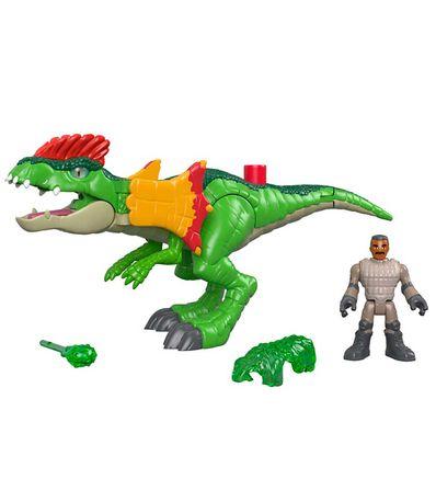 Jurassic-World-Imaginext-Figura-con-Dilophosaurus