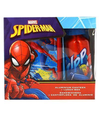 Spiderman-Sandwicheira-com-Garrafa-de-Aluminio