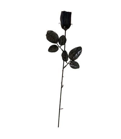 Rosa-Negra-Accesorio-Halloween