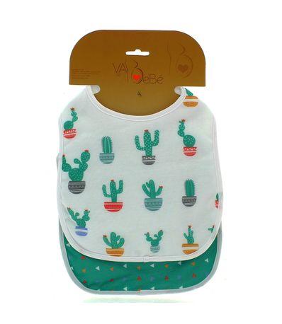 Pack-2-Baberos-de-Rizo-con-velcro-Cactus-Niño