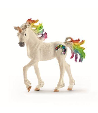 Figura-de-Unicornio-Arcoiris-Potro