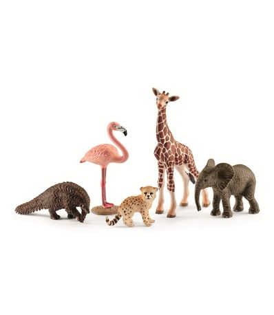 Figures-Assortiment-animaux-de-la-jungle
