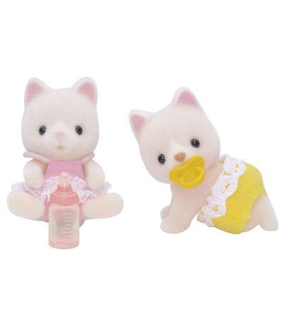 Figures-Sylvanian-Twins-Cat