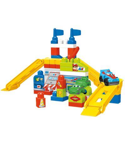Mega-Bloks-Garaje-de-Coches-de-Carreras