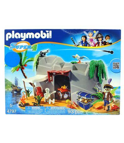 Playmobil-Super4-Gruta-dos-Piratas