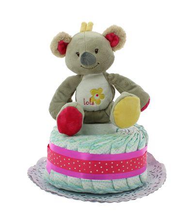 Pastel-Pañales-Koala-Rosa