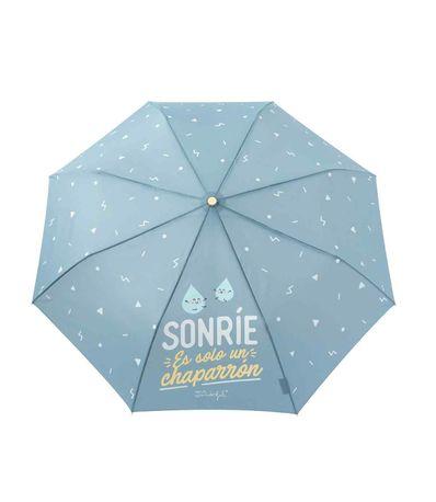 Paraguas-Mediano-Azul-Sonrie