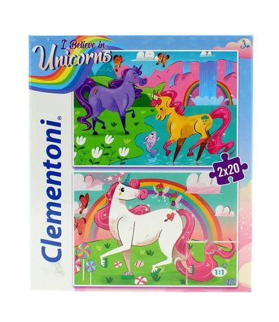Puzzles-I-Belive-in-Unicorns-2X20-Pecas