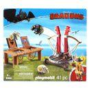 Playmobil-Dragons-Bocon-con-Lanzadera-de-Ovejas