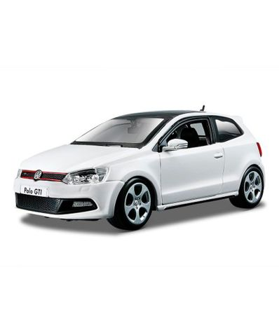 Coche-Miniatura-Star-VW-Polo-GTI-Blanco-Escala-1-24