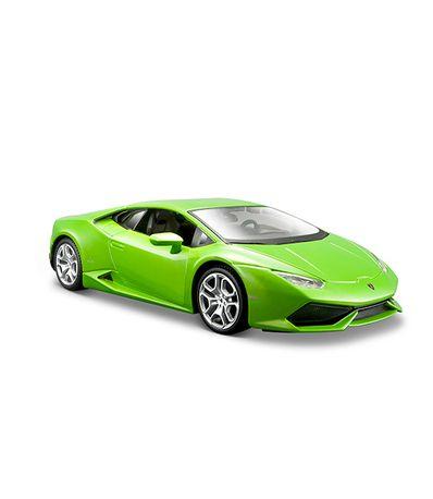 Voiture-miniature-Lamborghini-Vert-Echelle-1-24