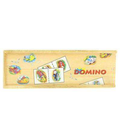 Domino-en-bois