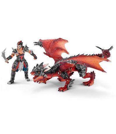 Figura-lutador-com-dragao