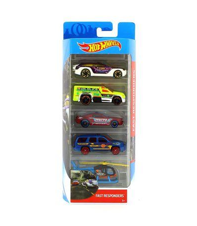Hot-Wheels-Pack-5-Vehiculos-Fast-Responders