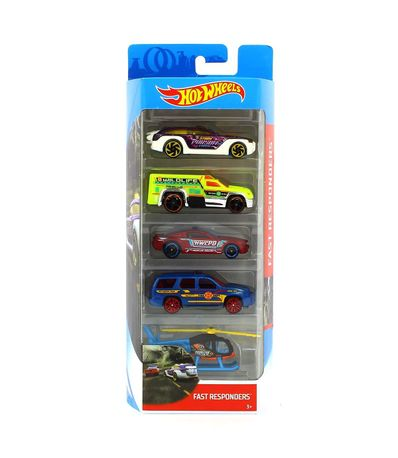 Hot-Wheels-Pack-5-Vehiculos-Fast-Responders