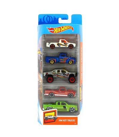 Hot-Wheels-Pack-5-Vehiculos-Hot-Trucks