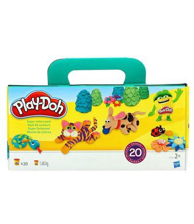 Play-Doh-Plastilina-Super-Color-Pack-20-Botes