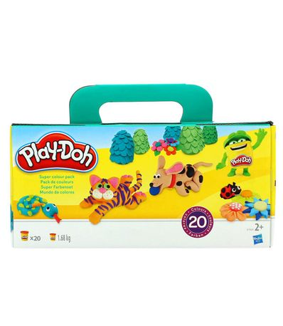 Play-Doh-Pate-a-modeler-Super-Couleur-Pack-20-Pots