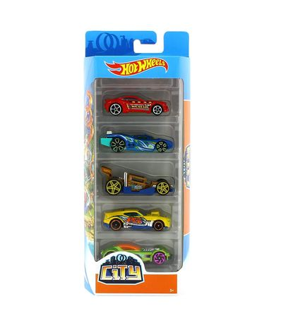 Hot-Wheels-Pack-5-Vehiculos-City