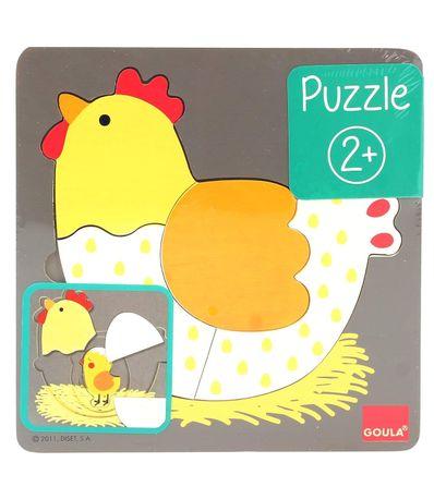 Puzzle-de-Madeira-Galinha-de-7-Pecas