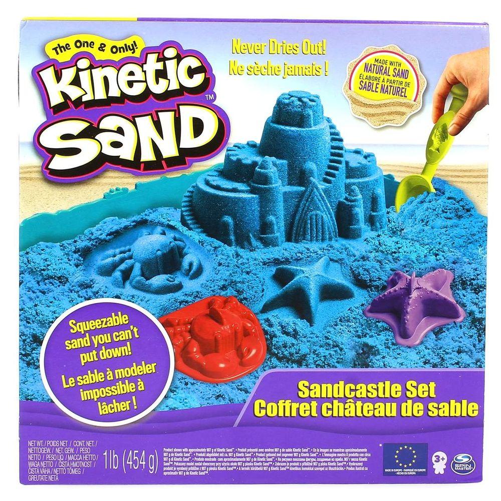 3b68caf1a7 Kinetic Sand Castelo Areia Azul - drimjuguetespt