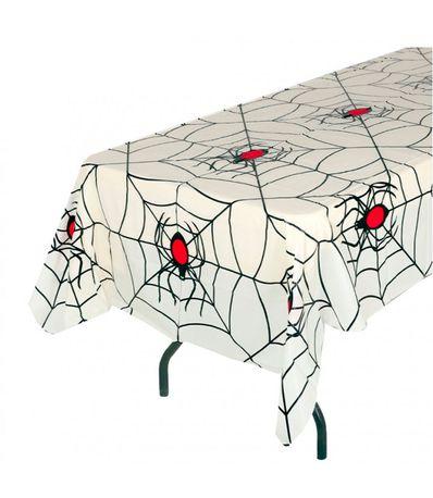 Mantel-PVC-Telarañas