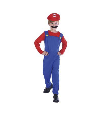 Plombier-Mario-Costume-enfant-4-6-ans
