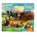 Playmobil-Spirit-Riding-Free-Pai-Lucky-e-Carruagem