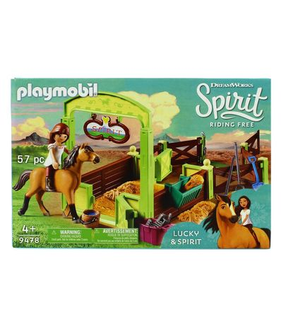 Ecurie-Playmobil-Spirit-Equitation-Free-Spirit