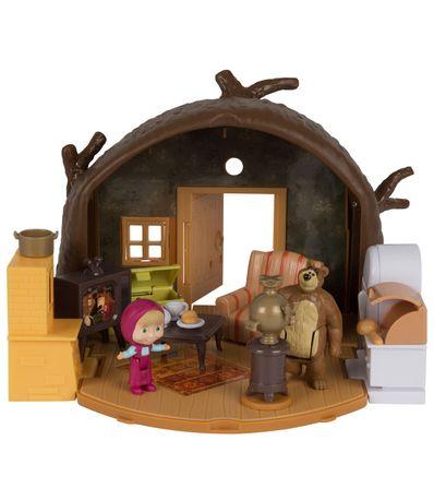 Masha-e-o-Urso-Playset-Casa-do-Urso