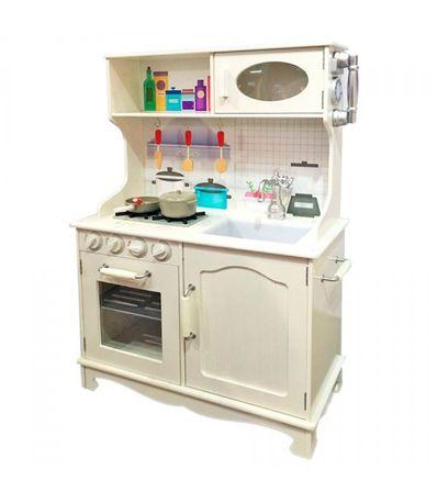 Cocina-Vintage-de-Madera