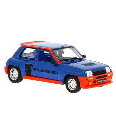 Carro-Miniatura-Renault-5-Turbo-Azul-1-24