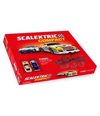 Circuito-compacto-de-Scalextric-Turbo-Twister